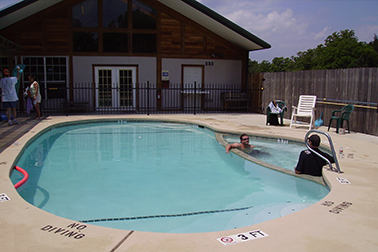 South Forty RV Park Swimming Pool
